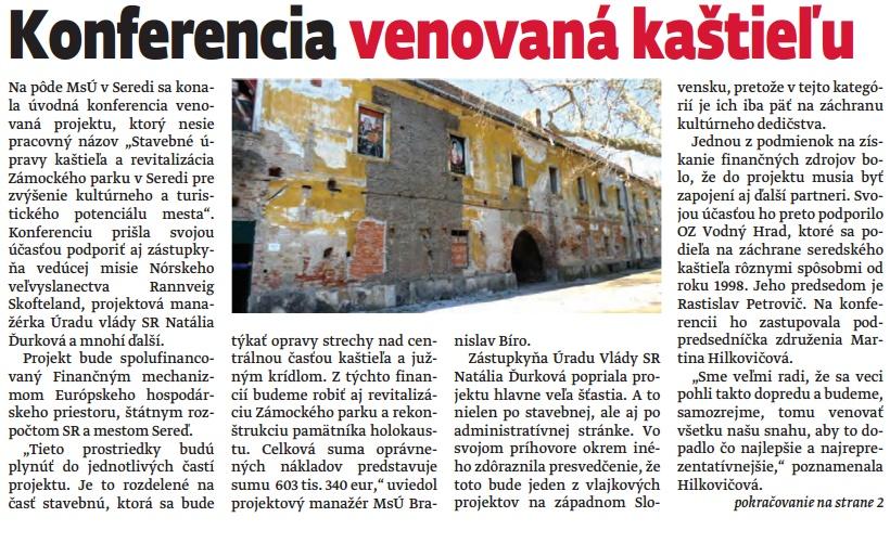 Seredské noviny Echo